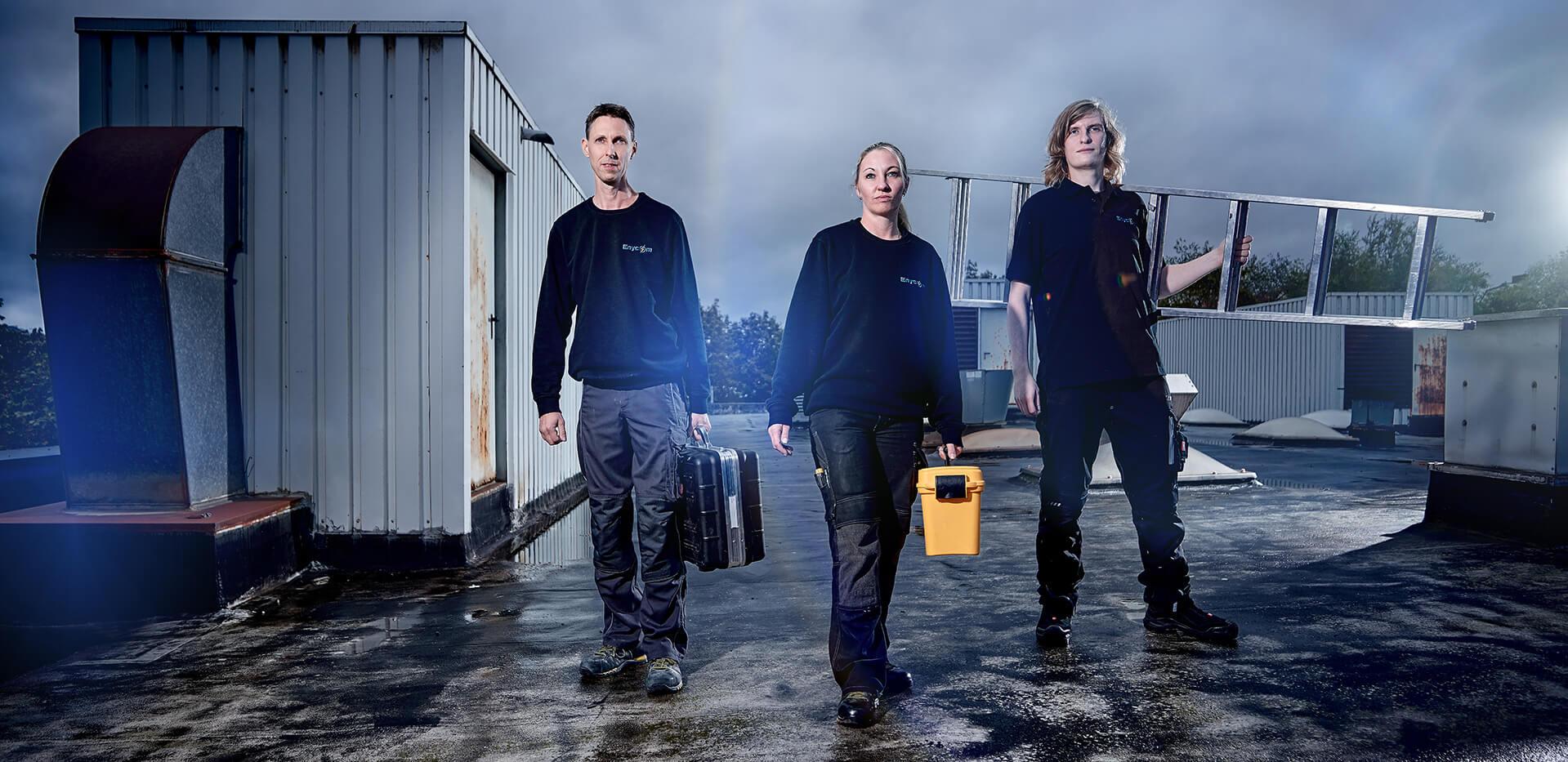 Das Team für Elektrotechnik aus Berlin